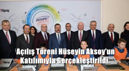 Açılış Töreni Hüseyin Aksoy'un Katılımıyla Gerçekleştirildi.