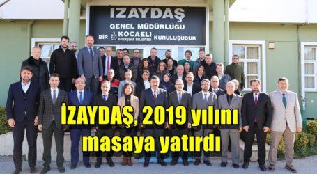 İZAYDAŞ, 2019 yılını masaya yatırdı