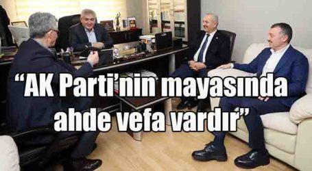"""""""AK Parti'nin mayasında ahde vefa vardır"""""""