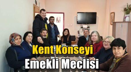 Kent Konseyi Emekli Meclisi Komisyonlarını belirledi