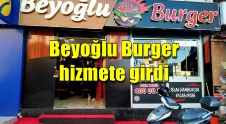 Beyoğlu Burger hizmete girdi