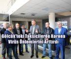 Gölcük'teki Taksicilerde Korona Virüs Önlemlerini Arttırdı