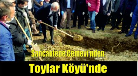 Sancaktepe Cemevi'nden, Toylar Köyü'nde  TOPRAĞA VERİLDİ