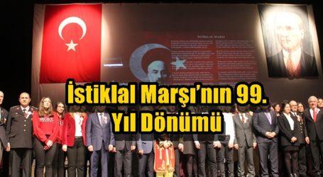 İstiklal Marşı'nın 99. Yıl Dönümü