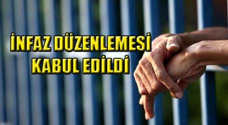 İNFAZ DÜZENLEMESİ KABUL EDİLDİ