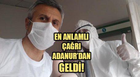 EN ANLAMLI ÇAĞRI ADANUR'DAN GELDİ!