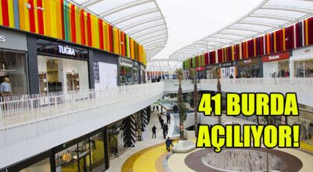 41 BURDA AÇILIYOR!