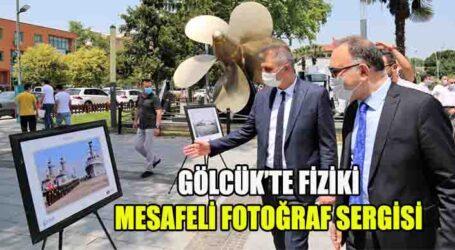 GÖLCÜK'TE FİZİKİ MESAFELİ FOTOĞRAF SERGİSİ