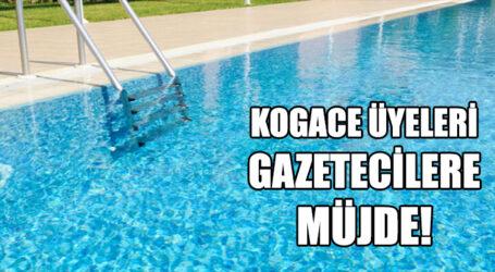 KOGACE ÜYELERİ GAZETECİLERE MÜJDE!