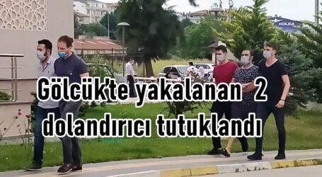 Gölcük'teki yakalanan 2 dolandırıcılar tutuklandı