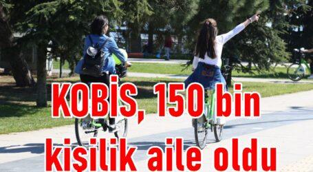 KOBİS, 150 bin kişilik aile oldu