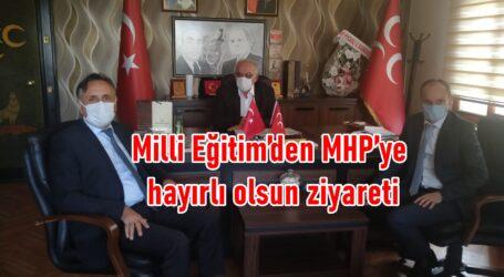 Milli Eğitim'den MHP'ye hayırlı olsun ziyareti