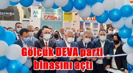 Gölcük DEVA parti binasını açtı