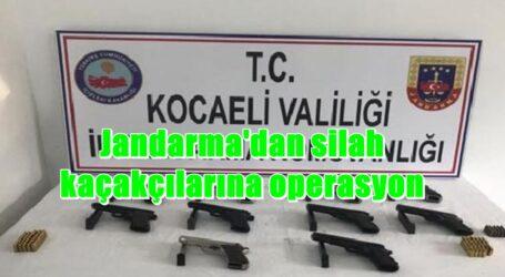 Jandarma'dan silah kaçakçılarına operasyon