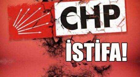 CHP'DE İSTİFA!