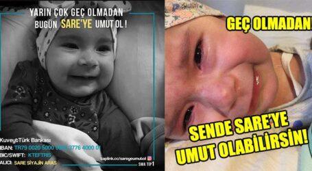 GEÇ OLMADAN! SENDE SARE'YE UMUT OLABİLİRSİN!