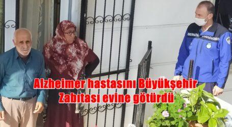Alzheimer hastası İbrahim Amca'yı Büyükşehir Zabıtası evine götürdü