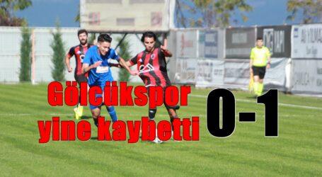 Gölcükspor yine kaybetti 0-1