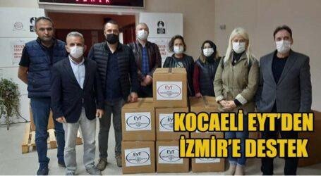KOCAELİ EYT'DEN İZMİR'E DESTEK