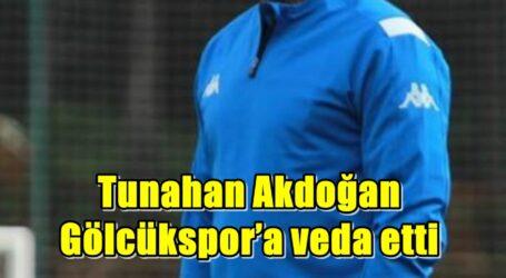 Tunahan Akdoğan Gölcükspor'a veda etti