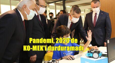 Pandemi, 2020'de KO-MEK'i durduramadı