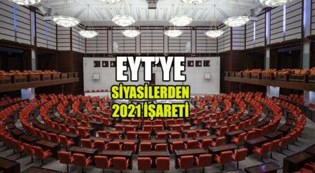 EYT'YE SİYASİLERDEN 2021 İŞARETİ