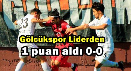 Gölcükspor Liderden 1 puan aldı 0-0