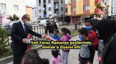 Vali Yavuz Ramazan gezilerinde Gölcük'ü Ziyaret etti