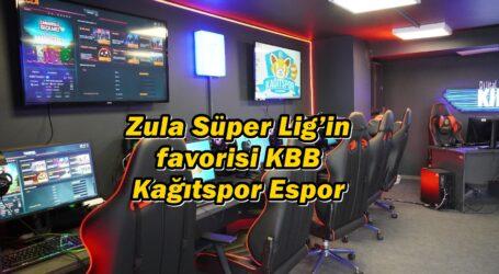 Zula Süper Lig'in favorisi KBB Kağıtspor Espor