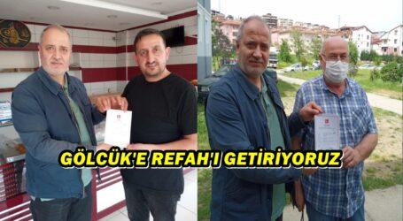 GÖLCÜK'E REFAH'I GETİRİYORUZ.