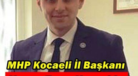 MHP Kocaeli İl Başkanı Yunus Emre Kurt oldu.