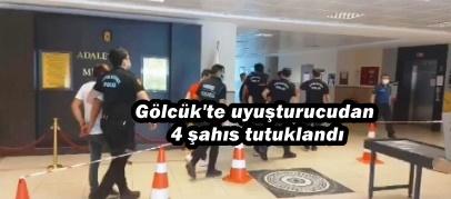Gölcük'te uyuşturucudan 4 şahıs tutuklandı