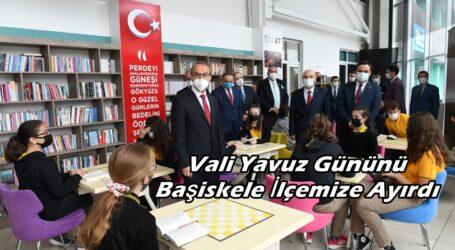 Vali Yavuz Gününü Başiskele İlçemize Ayırdı