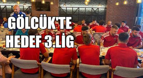 GÖLCÜK'TE HEDEF 3.LİG
